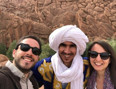 Monkey toes in Dades an attraction you will visit with our Marrakech to Merzouga desert tour 3 days