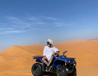 Ride atvs on the erg chebbi sand dunes with our Morocco tours travel agency