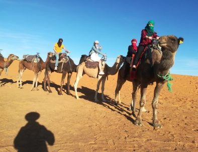 Join the best camel ride with our 4 days Morocco tour from Marrakech to the desert
