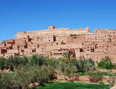 Ait Ben Haddou during 3 days tour from Fes to Marrakech