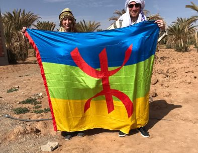 our clients picture during a 5 days tour from Marrakech to Fes across the desert
